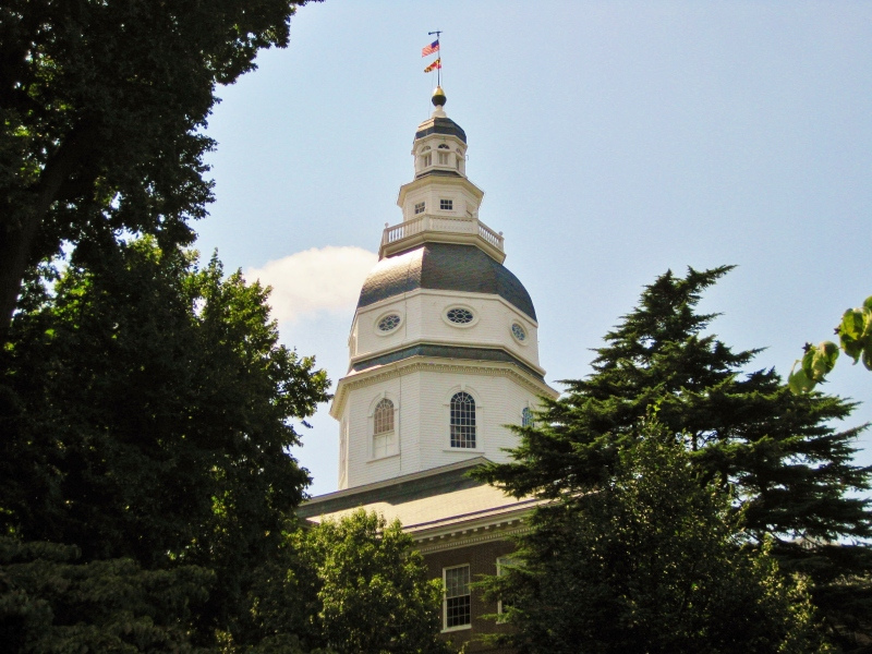 Besides housing Congress from 1783-84, the State House was the site of George Washington's resignation from the Continental Army.