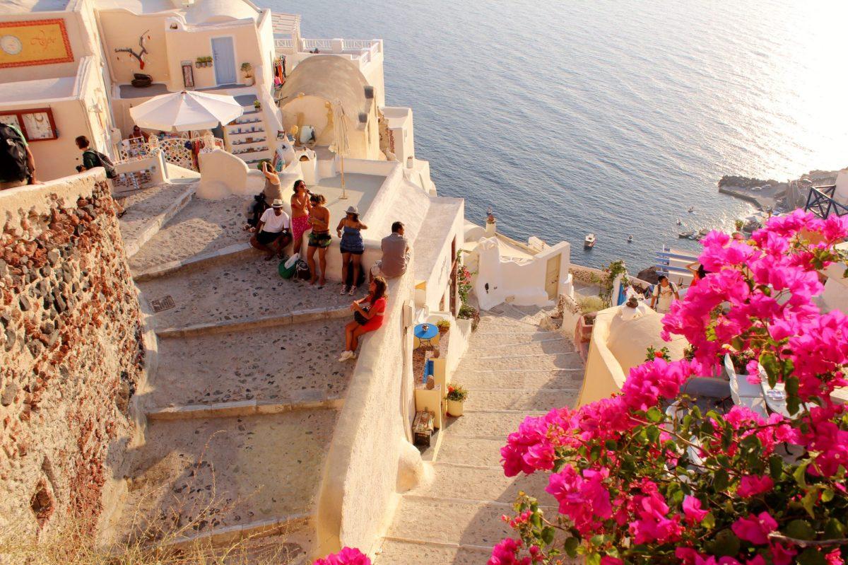 Oia Staircase