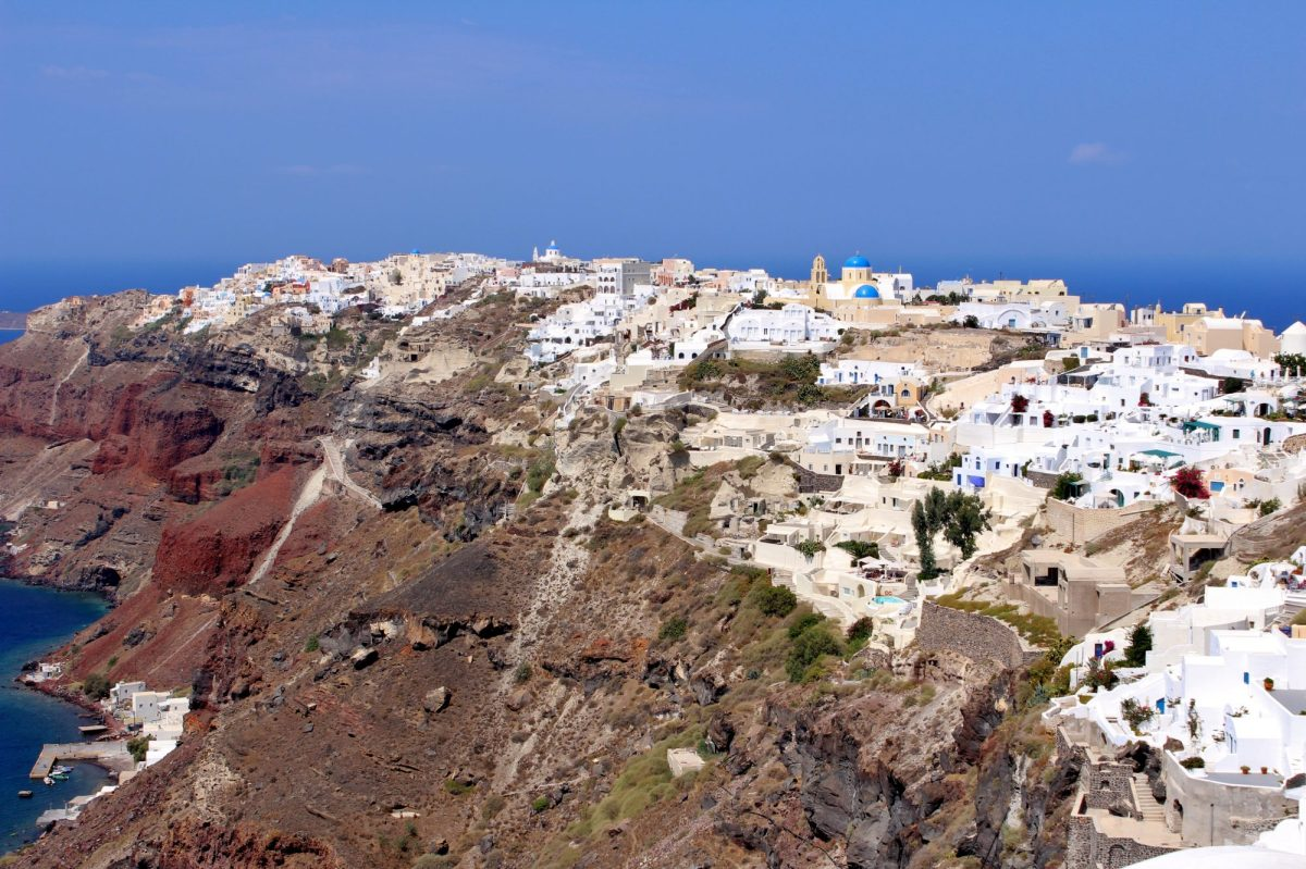Trail to Fira