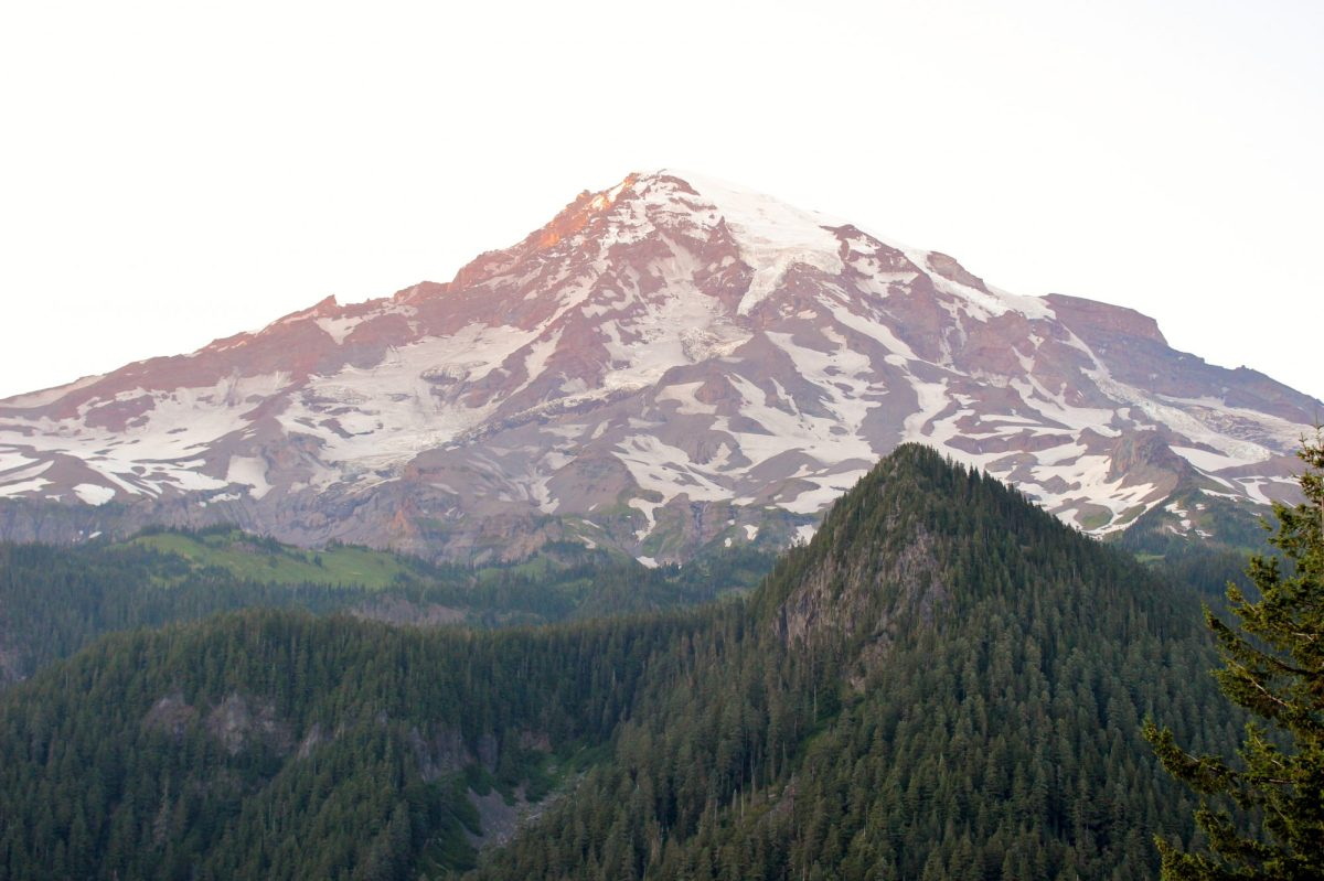 Mount Rainier Sunset